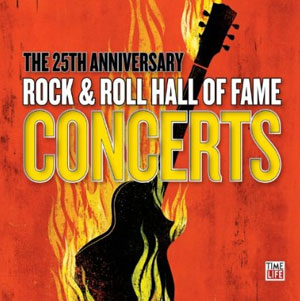 cd the 25th anniversary rock roll hall of fame concerts 4 cd backstreet records. Black Bedroom Furniture Sets. Home Design Ideas