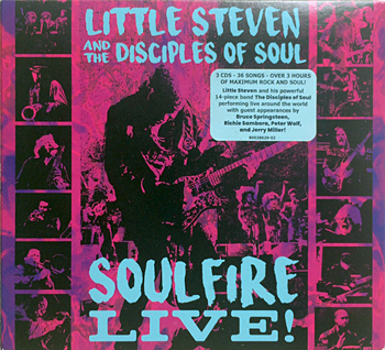 CD: Little Steven and the Disciples of Soul - Soulfire Live!
