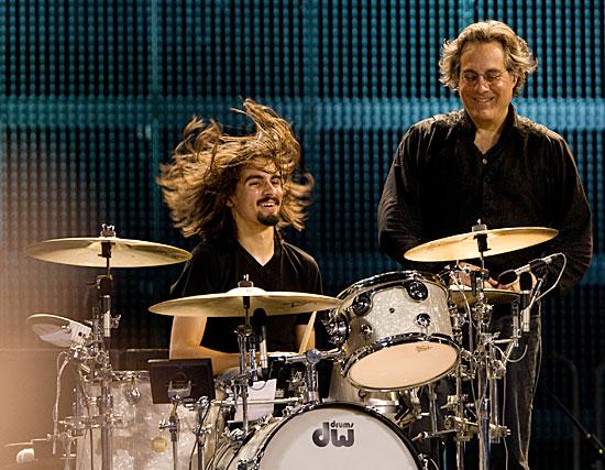 Jay Weinberg and Max Weinberg